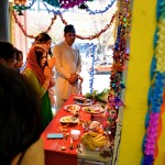 The Formal Laxmi pooja by Pandit